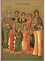 The seven holy Maccabee martyrs, their mother St. Solomonia, and their teacher St. Eleazar