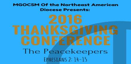 2016 Thanksgiving conference