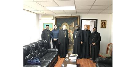Metropolitan Meets with Dean of Faculty of Orthodox Theology