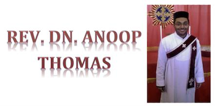Rev. Dn. Anoop Thomas to be Ordained Mshamshono